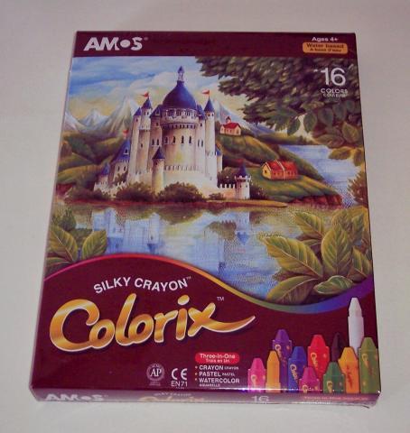 Amos Colorix Silky crayons