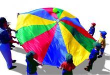Greenbean Small Parachute