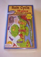 Suczezz 36 Piece Wooden Puzzle Rain Cycle