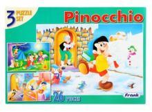 Frank 3 Puzzle set Pinochio